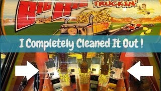 Big Rig Truckin' I Dumped All The Trucks?! Cleaning it out! Arcadejackpotpro