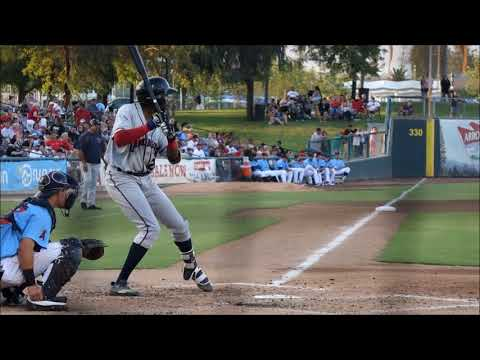 Wes Rogers, Colorado Rockies OF Prospect (2017 California League)