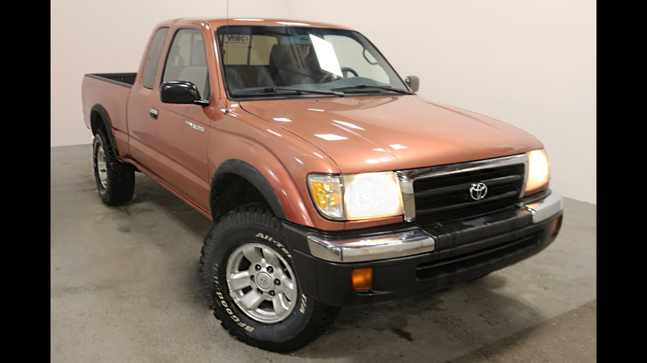 1998 toyota tacoma sr5 xtra cab 4wd youtube. Black Bedroom Furniture Sets. Home Design Ideas