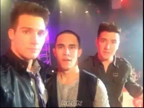 Big Time Rush on the set of Marvin Marvin! - YouTube
