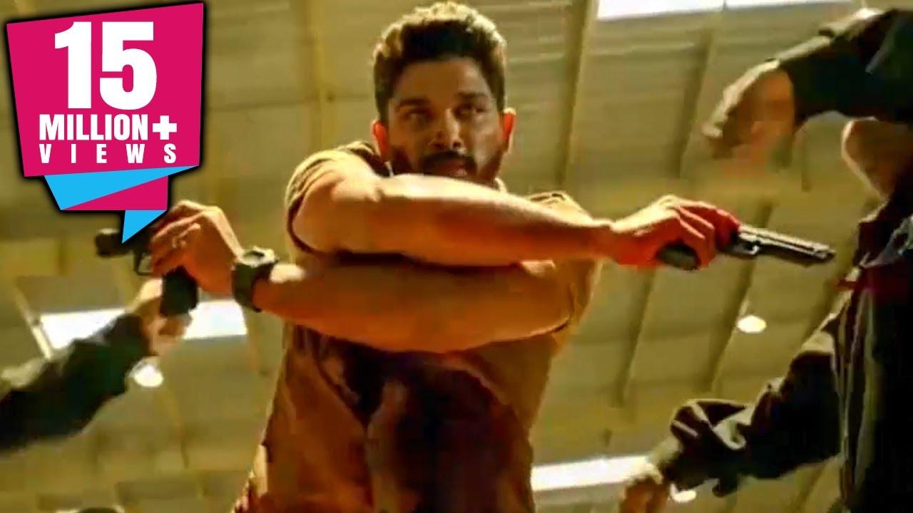 Sarrainodu Action Scene | South Indian Hindi Dubbed Best Action Scene