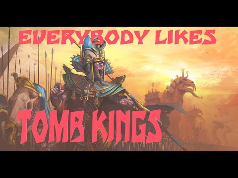 Everybody likes Tomb Kings. Unique Friendly lines for Tomb Kings. Total War Warhammer 2 |
