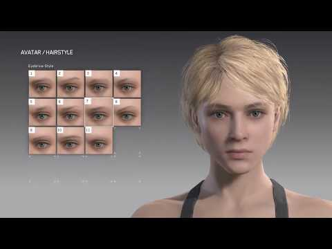 METAL GEAR SURVIVE FULL CHARACTERS FEMALE CREATION