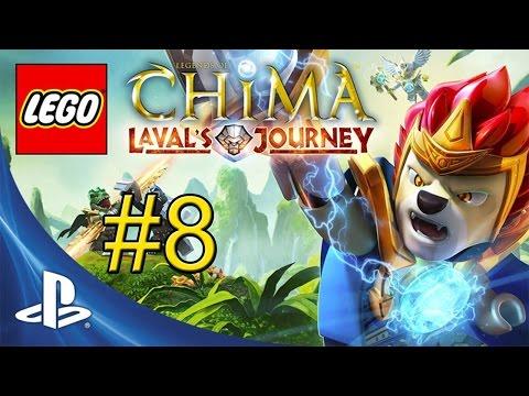 LEGO Legends of Chima Lavals Journey {PS Vita} часть 8 — Красивая Пещера