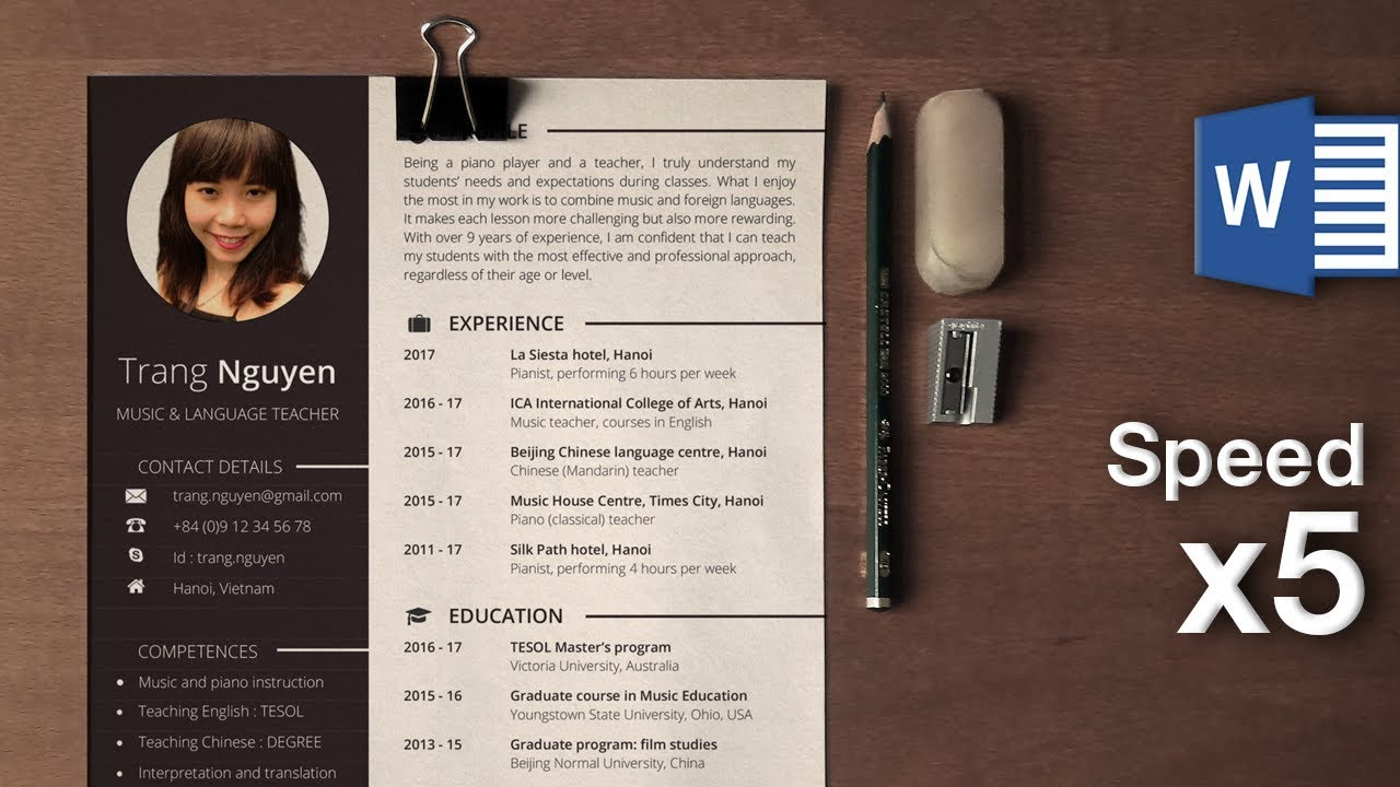 modern software resume