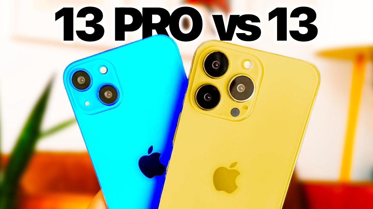 iPhone 13 vs iPhone 13 Pro: Don't make a mistake