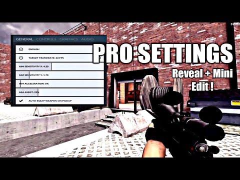 Critical Ops - Pro Settings for iPad !! + Mini Edit (3 Finger HUD)
