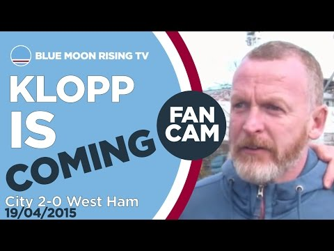 KLOPP IS COMING! | Manchester City 2-0 West Ham - Goals: Collins, Aguero | FAN CAM