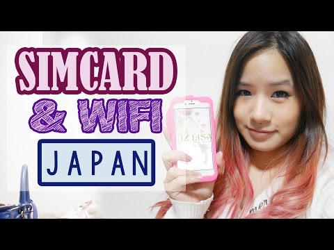 Getting a SIMCARD & WIFI in JAPAN | KimDao in JAPAN
