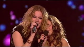 LeAnn Rimes Carly Rose Sonenclar X-Factor Duet