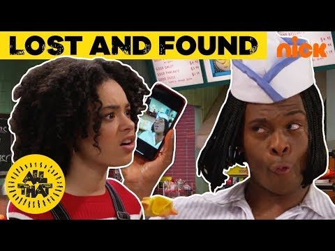 Lost Phone at Good Burger!  w/ Kel Mitchell + BONUS Jonas Brothers Clip! | All That