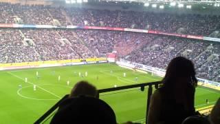 Borussia Mönchengladbach gegen den FC Schalke 04