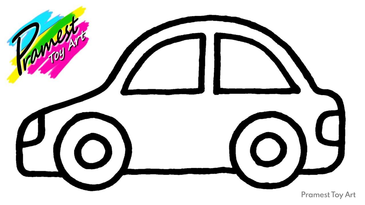 20 Gambar Mobil Untuk Diwarnai Anak Tk Terkini Lingkar Png