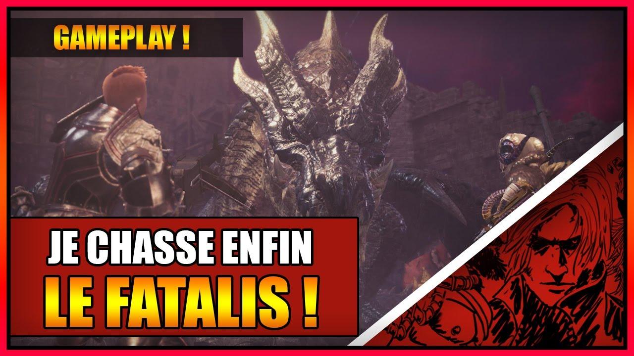 Download GAMEPLAY - JE CHASSE ENFIN LE DRAGON NOIR ULTIME ! LE FATALIS ! MONSTER HUNTER WORLD ICEBORNE - FR