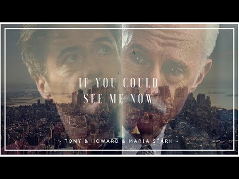Tony & Howard (+Maria) Stark || If you could see me now