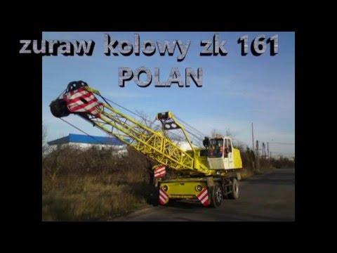 Dżwig żk-161 POLAN,żuraw samojezdny