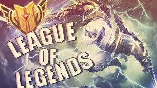 ¡Los Maestrias 5! - Zed Filo Relampago [League Of Legends]