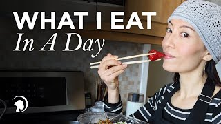 What I Eat in a Day - Fumiko Takatsu https://faceyogamethod.com thumbnail