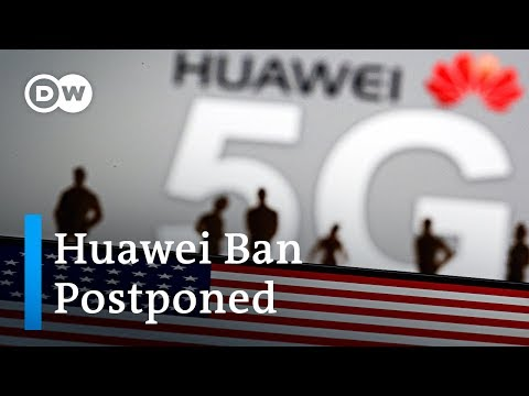 US temporarily eases restrictions on Huawei | DW News