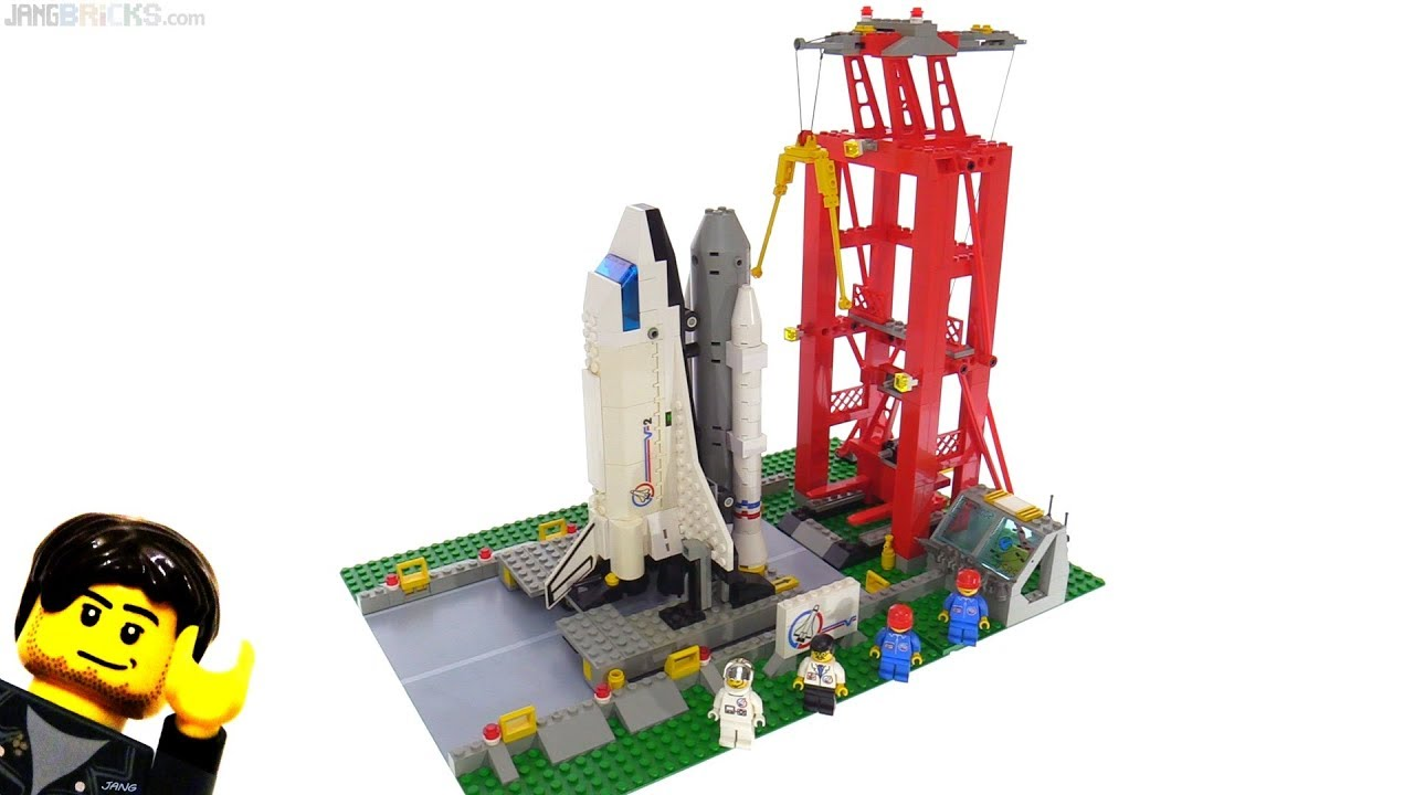 lego space shuttle launch pad 6339 - photo #13