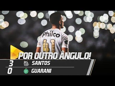 Santos 3 x 0 Guarani | GOLS POR OUTRO ÂNGULO | Paulistão (18/02/19)