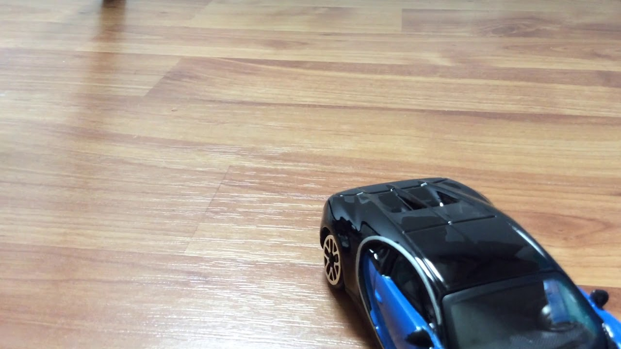 1/43 scale bugatti chiron - youtube