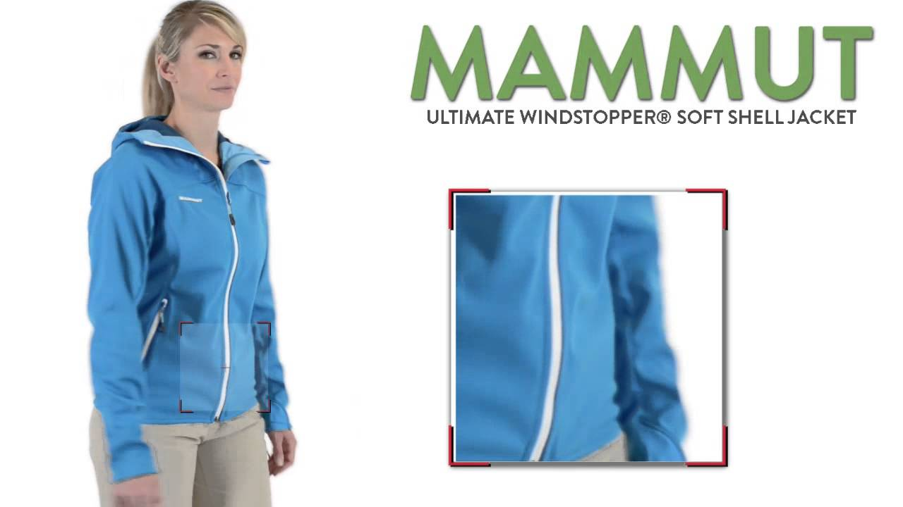 new arrival 271f4 853a1 Mammut Ultimate Windstopper® Soft Shell Jacket (For Women)