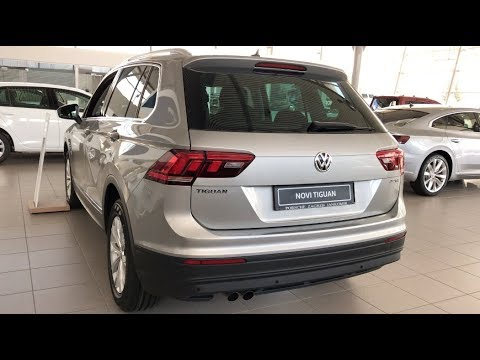 volkswagen tiguan comfortline 2018 white interior quick view in 4k youtube. Black Bedroom Furniture Sets. Home Design Ideas