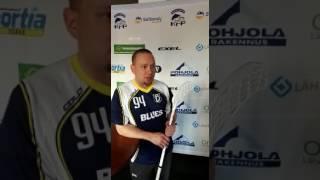 Juha Kainulaisen mietteitä ensimmäisen ottelun jälkeen Bluesin ikämiehissä