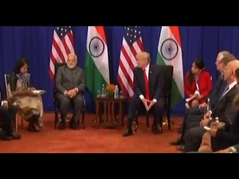 ASEAN SUMMIT: PM Narendra Modi meets US President Donald Trump in Manila, holds bilateral