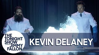 Kevin Delaney Helps Jimmy Let It Glow with a Frozen 2-Inspired Experiment Video