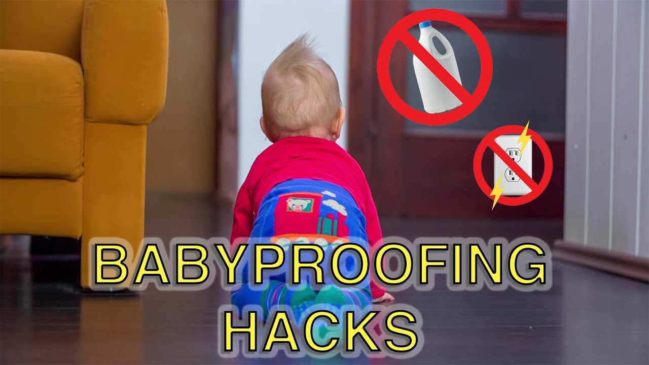 Last-Minute Babyproofing Ideas For Hosts