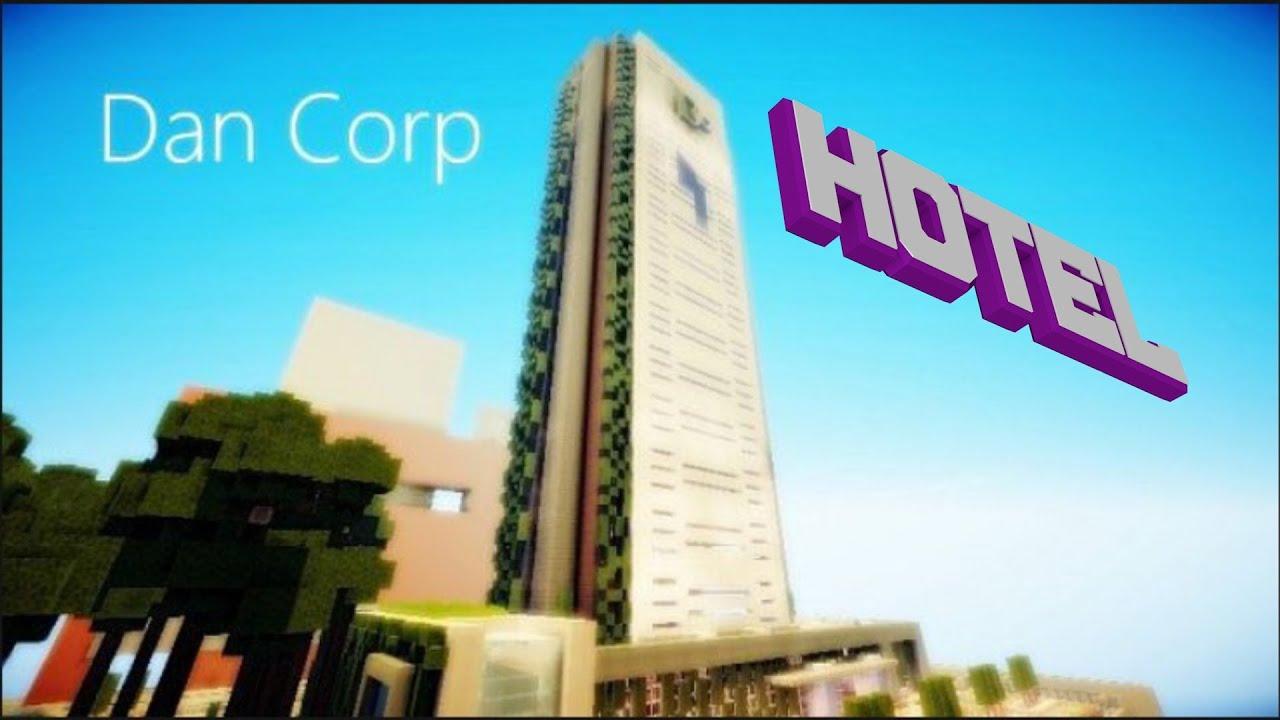 Minecraft Pe Modern Hotel