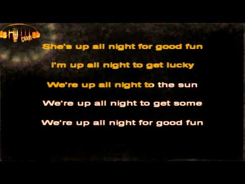 Daft Punk - Get Lucky karaoke (with vocals)