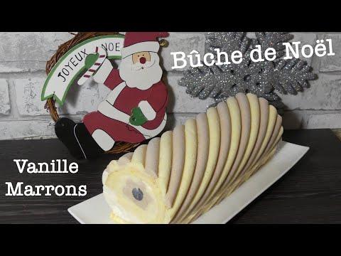 recette-bÛche-de-noËl-vanille-marrons