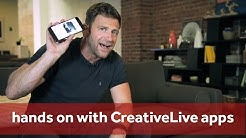 Hands On with CreativeLive Apps | Chase Jarvis RAW