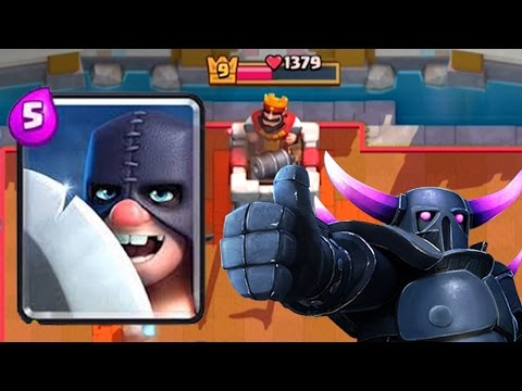 EXECUTIONER PLUS PEKKA = OP | Clash Royale | How to Use the Executioner
