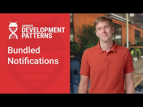 Bundled Notifications (Android Development Patterns S3 Ep 5)