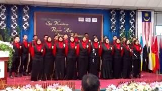 Choir JMTI Konvokesyen Asas 2014 - Kelab Kebudayaan & Kesenian JMTI