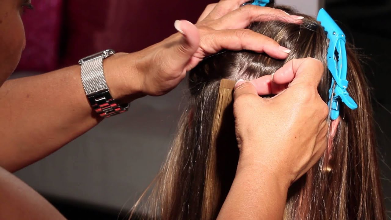 How To Apply True Hair Miami Extensions Youtube