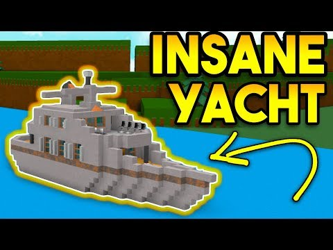 INSANE YACHT!! | EPIC BOAT | Roblox Build A Boat For Treasure
