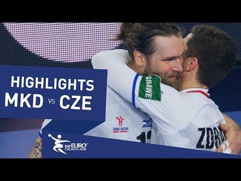 Highlights | FYR Macedonia vs Czech Republic | Men