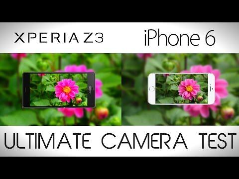 Sony Xperia Z3 vs iPhone 6 - Camera Comparison Test