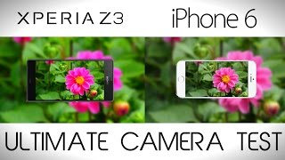 Sony Xperia Z3 vs iPhone 6 - Camera Comparison Test