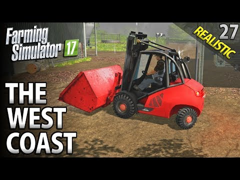 Let's Play Farming Simulator 17 | The West Coast | Episode 27