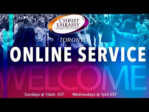 Christ Embassy Toronto Canada Service, Sunday, August 30th, 2020