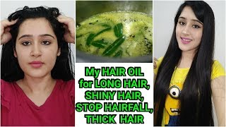 APPLY THIS to GROW LONG HAIR, STOP HAIRFALL, SILKY & SHINY HAIR