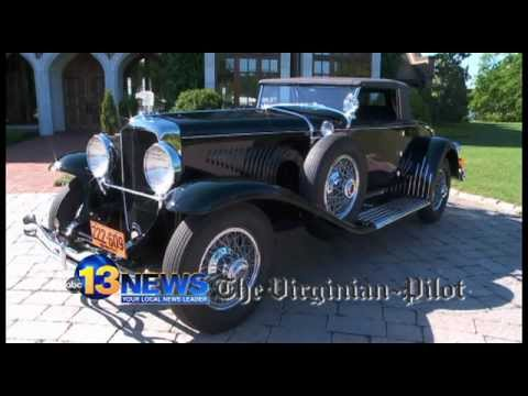 In the Driver's Seat: Classic auto show, 1929 Duesenberg (WVEC)
