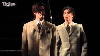 田代万里生、柿澤勇人 出演!ミュージカル「スリル・ミー」公開稽古