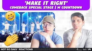 Gambar cover NSD REACT TO BTS 'Make It Right' Comeback Special Stage | M COUNTDOWN